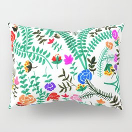 Mexican flowers pattern Pillow Sham