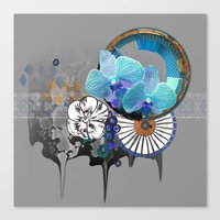 orchid Canvas Prints featuring Orchid by Sabah