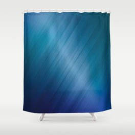 Jelly Bean & Blue Shades Metallic Pattern Shower Curtain