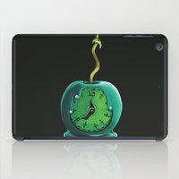 haunted mansion iPad Cases featuring Haunted Mansion 13th Hour Clock Apple by ArtisticAtrocities