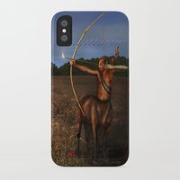 sagittarius iPhone & iPod Cases featuring Sagittarius by Viggart