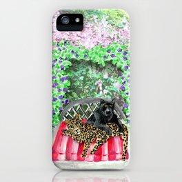 Happy Jaguars iPhone Case
