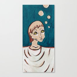 Paging all Bubbles Canvas Print