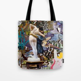 covert and discovered history 58 Tote Bag