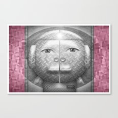 Flumercury Woman Canvas Print