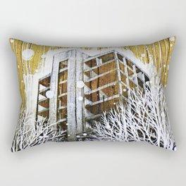 """The Fortress"" Rectangular Pillow"