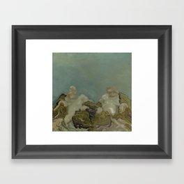 The Schism Framed Art Print