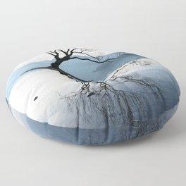 The Wanaka Tree, South Island, New Zealand Floor Pillow