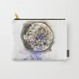 Star War Art Painting The Death Star Carry-All Pouch