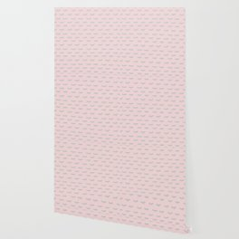 Small Pink Sleeping Eyes Of Wisdom - Pattern - Mix & Match With Simplicity Of Life Wallpaper