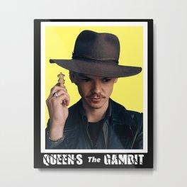the queen's gambit retro Metal Print