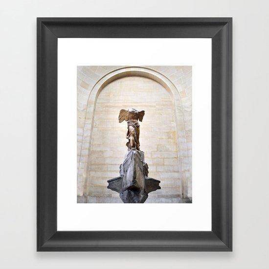 Lady Victory Framed Art Print