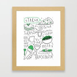 Italia Framed Art Print