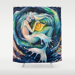 Sweet Dreams (Little Mermaid) Shower Curtain