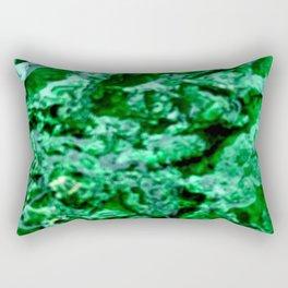Wet Kryptonite Rectangular Pillow
