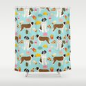 St. Bernard junk food fast food french fries dog breed pattern cute pet gifts by petfriendly