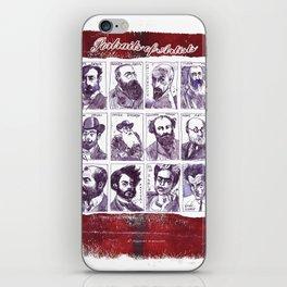 Portraits of artists iPhone Skin