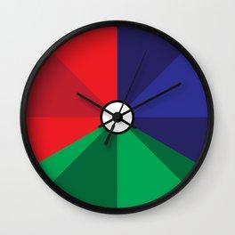 RGB 4/3 Wall Clock
