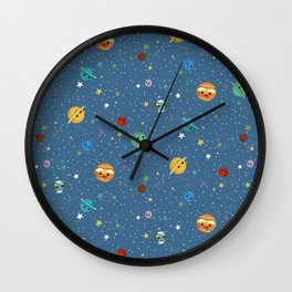 Out Of This World Cuteness Wall Clock