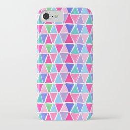 Pretty triangles iPhone Case