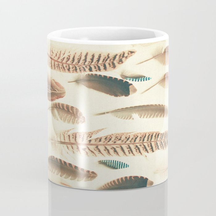 Found Feathers Coffee Mug