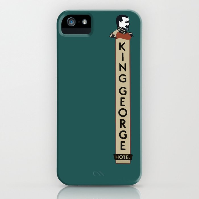 The King George Hotel iPhone Case