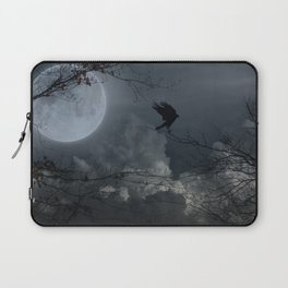 There's A Moon Out Tonight Laptop Sleeve