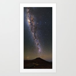 Milky Way in Chile 2 Art Print