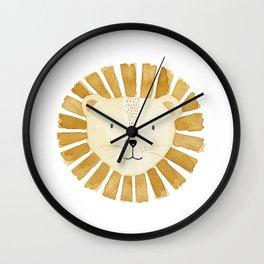 Lion Nursery Wall Clock
