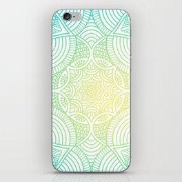 Ethic Floral Mandala Pattern iPhone Skin