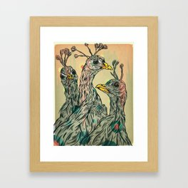 Old friends Framed Art Print