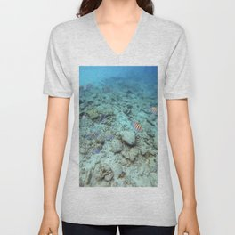 Plenty Of Fish In The Sea (4) Unisex V-Neck