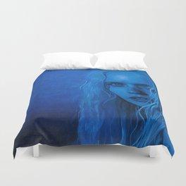 The Blue Angel Woman Duvet Cover