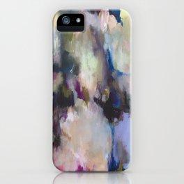 Colourful Abstract - Grandma's Garden iPhone Case