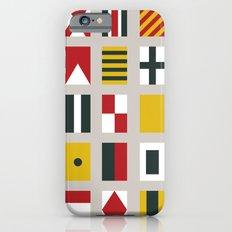 Nautical Flags Slim Case iPhone 6s
