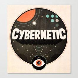 Cybernetic Eye Canvas Print
