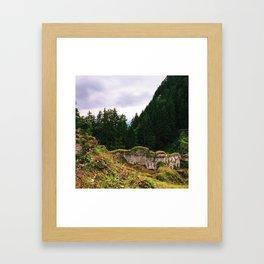 Austria Germany Framed Art Print