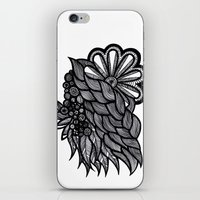 ornate elephant iPhone & iPod Skins featuring Ornate  by Shivani C