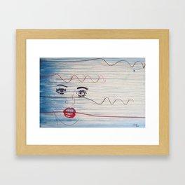 Hurricane Katrina Framed Art Print