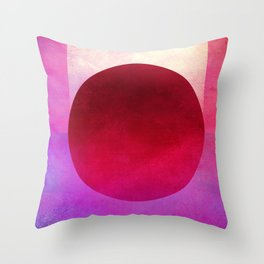 Circle Composition XII Throw Pillow
