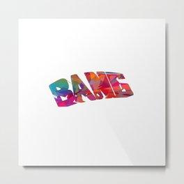 Bang Metal Print