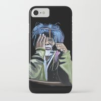jazz iPhone & iPod Cases featuring JAZZ by ink0023