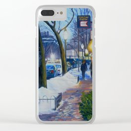 Charles Street Boston Clear iPhone Case