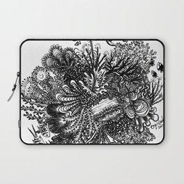 Coral Circle Laptop Sleeve