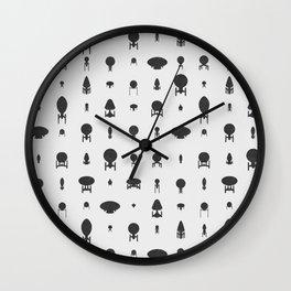 Vessels I Wall Clock