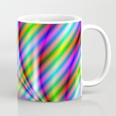 Neon Stripes Mug