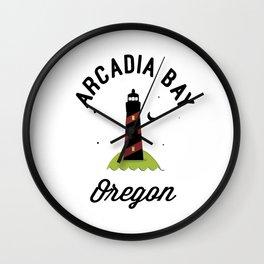 Arcadia Bay Organ Wall Clock