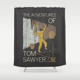 Books Collection: Tom Sawyer Shower Curtain