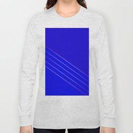 Victoria 4  Indigo Long Sleeve T-shirt