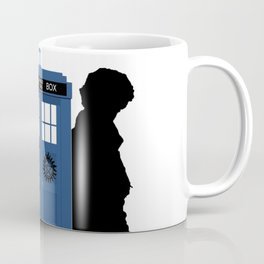 The Doctor and Sherlock meets Supernatural Coffee Mug